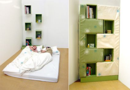 However here is a wonderful solution in the shape of a jigsawpuzzle bed