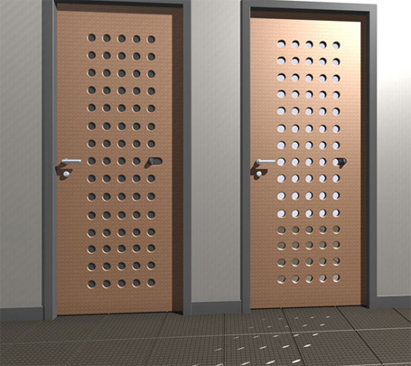 Ventilated door for Door ventilation design