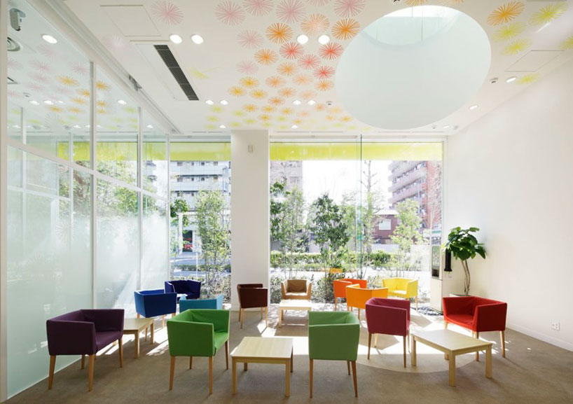rainbow bank interior