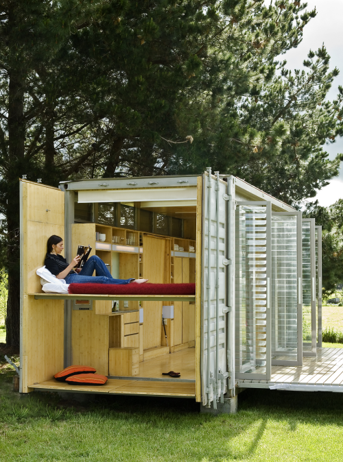 Container house for Portable home designs