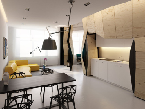 Transformer Apartment | CoolBusinessIdeas.
