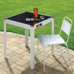 Solar Patio Table