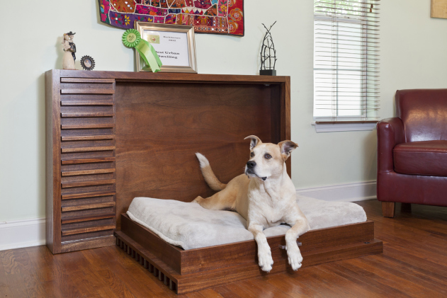 Modern Fold-Out Pet Bed