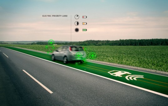 Charge Electric Vehicles on the Go