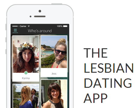 lesbian dating game app