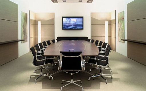 The importance of stylish well for Office conference room decorating ideas