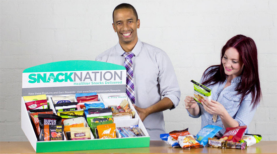 coolbusinessideas healthy snack box delivery to office