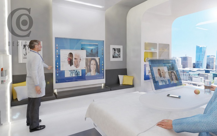 Hospital Patient Room Of The Future