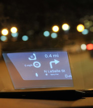 Carloudy Futuristic Head-Up Display on Your Car Windshield