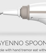 Gyenno Spoon Minimizes Hand Tremors for Parkinson's Disease Patients