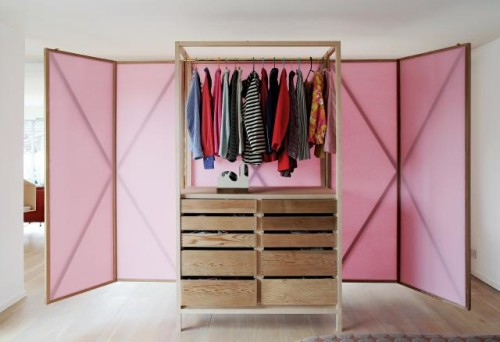 Closet Into Flexible Room Divider