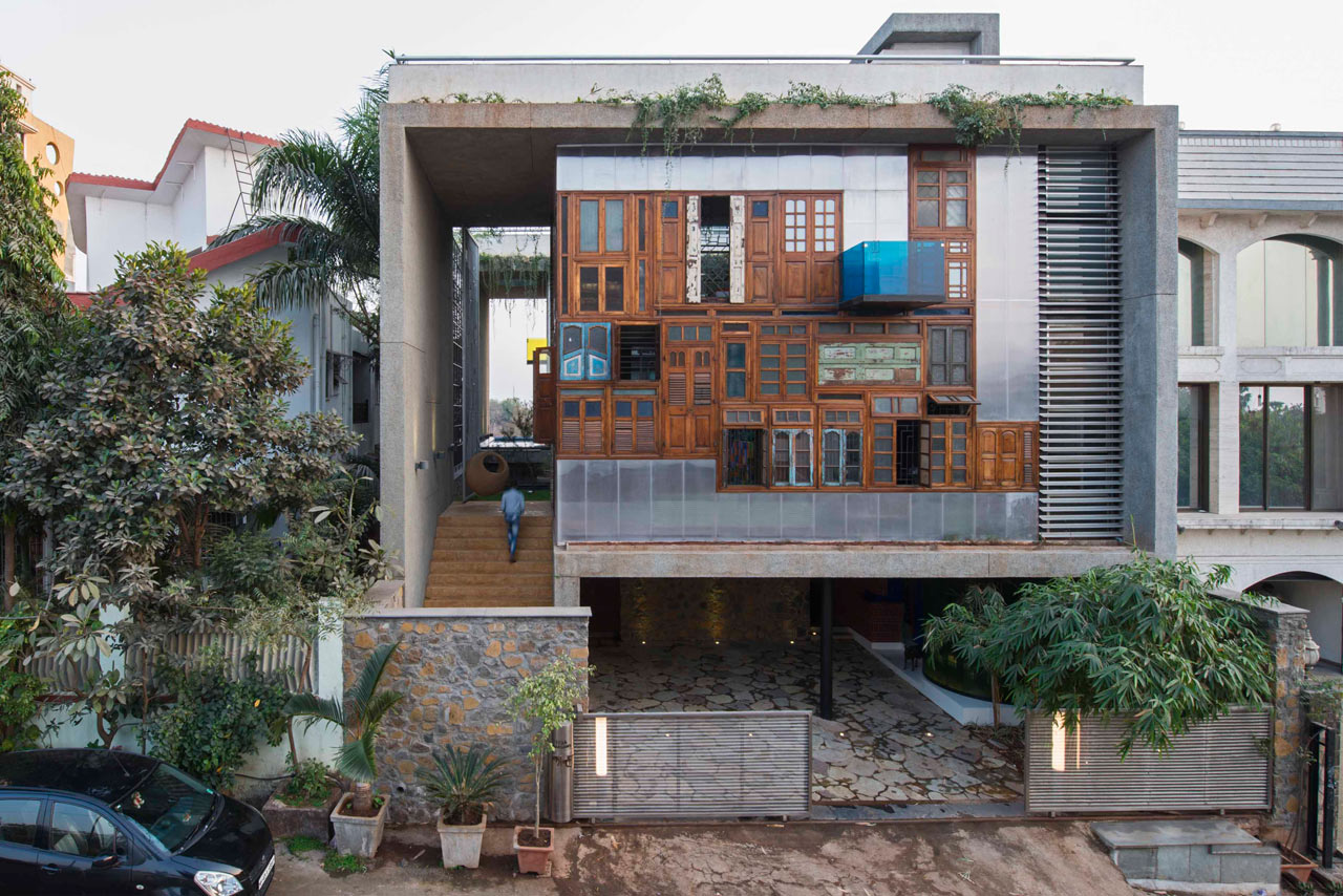 Using Recycled Industrial Materials In Buildings