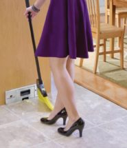 In-wall Kitchen Vacuum
