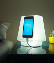 UpLamp Turns Your Smartphone Into a Smart Gesture-Controlled Bedside Lamp