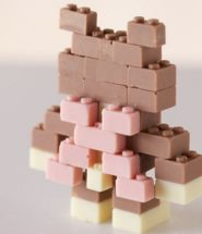 Chocolate LEGO Sculptures