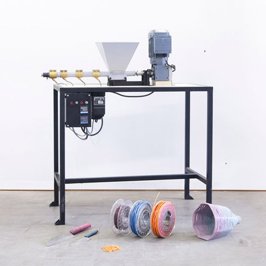 Open-source Precious Plastic Recycling Machines