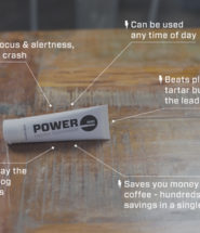 Power Toothpaste Launches World's First Caffeinated Toothpaste