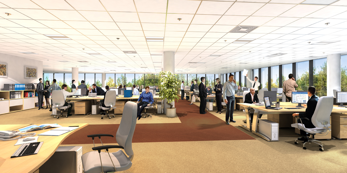 The pros and cons of an open plan for Office space planning