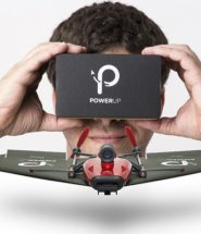Pilot your own Paper Airplane with PowerUp FPV