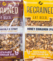 Tasty Granola Bars from Upcycled Beer Grains