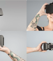 Moggles Portable Virtual Reality Headset