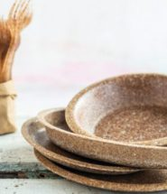 Wheat Bran Tableware