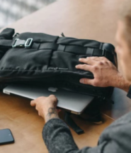 HURU Expandable, Water-Resistant Backpack