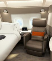 Singapore Airlines Unveils New Hotel-like Suites
