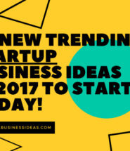 Free Report: 50 New Trending Startup Business Ideas in 2017 To Start Today!