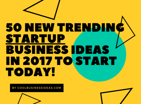 Free Report 50 New Trending Startup Business Ideas In 2017 To Start Today