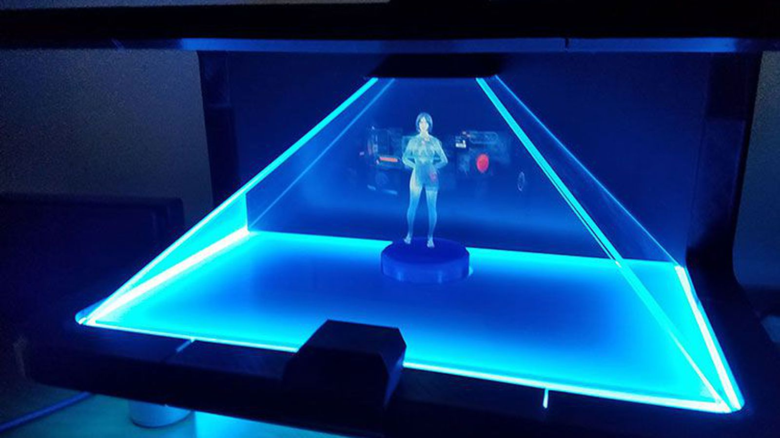 3d holographic projection technology report pdf