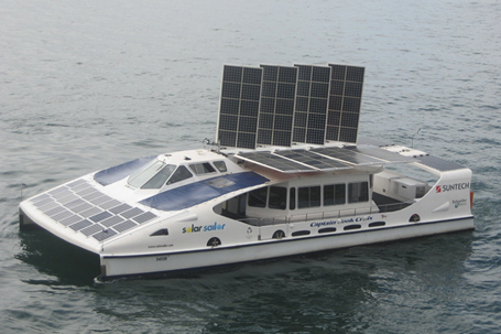 The Solar Sailor is a revolutionary maritime vessel