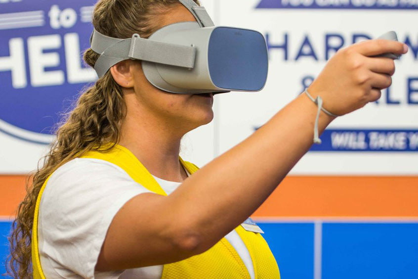 Walmart uses vr reality training for its employees the new