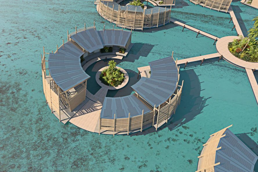 Kiribati Floating Houses